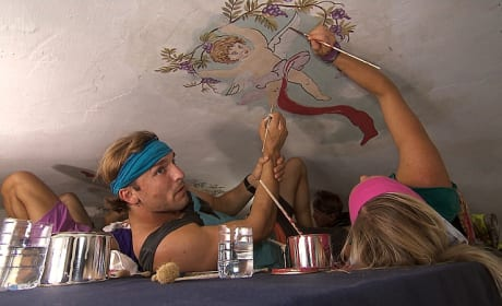 Painting the Ceiling - The Amazing Race
