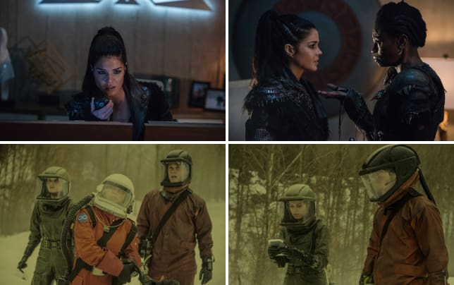 Commander octavia the 100 season 4 episode 13