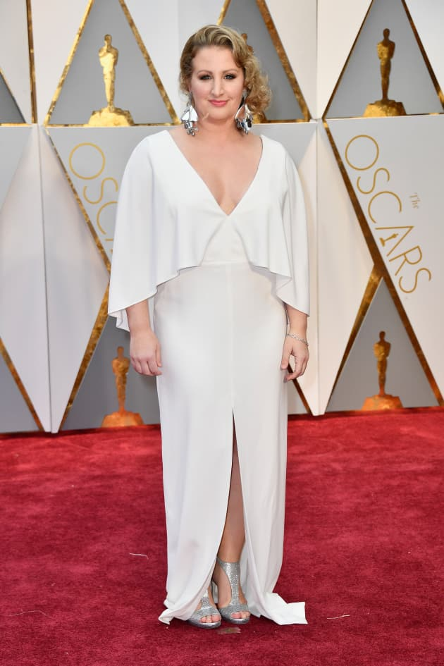 Mandy Moore Attends Academy Awards