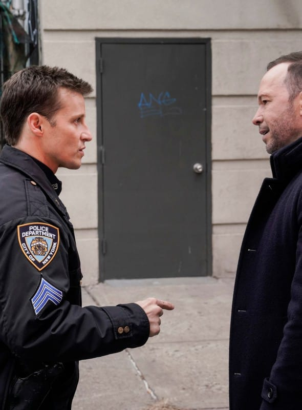 (TALL) Jamie and Danny Argue - Blue Bloods Season 9 Episode 14