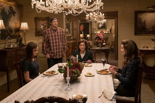 Luke Came to Dinner - Gilmore Girls