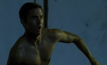 Heroes Spoilers: Zachary Quinto Shirtless!