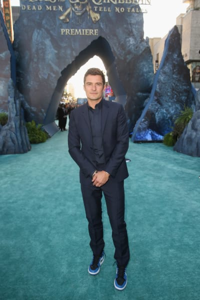 Orlando Bloom Attends Premiere