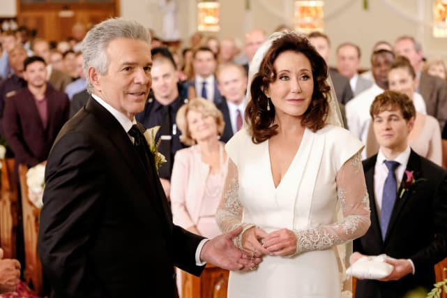 Sharon and Flynn got married on Major Crimes