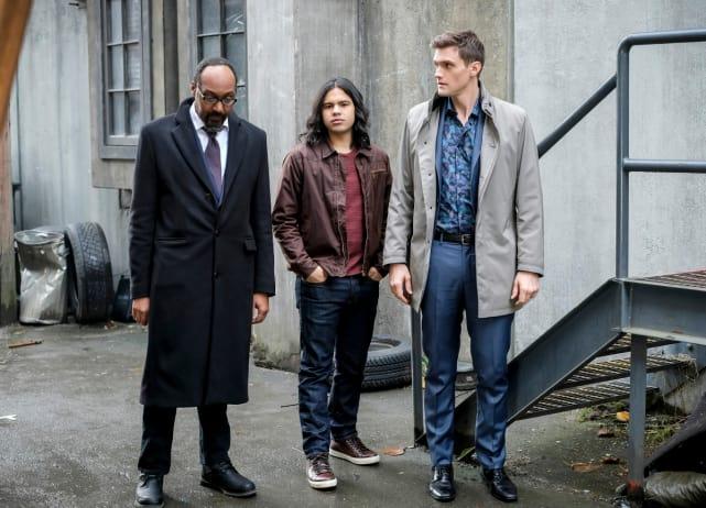 Miniature Trio? - The Flash Season 4 Episode 12