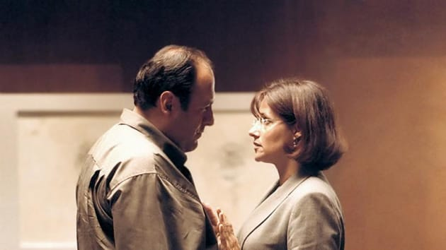Tony and Dr. Melfi