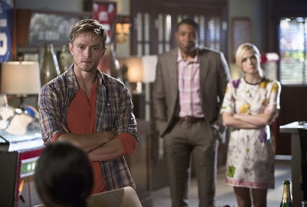 Confronting Zoe - Hart of Dixie Season 4 Episode 9