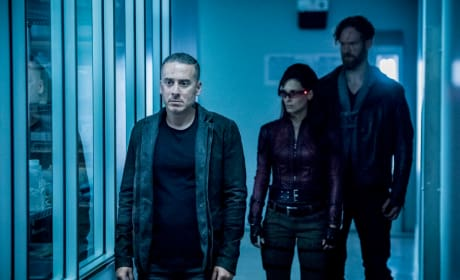 Diaz and Friends - Arrow Season 7 Episode 3