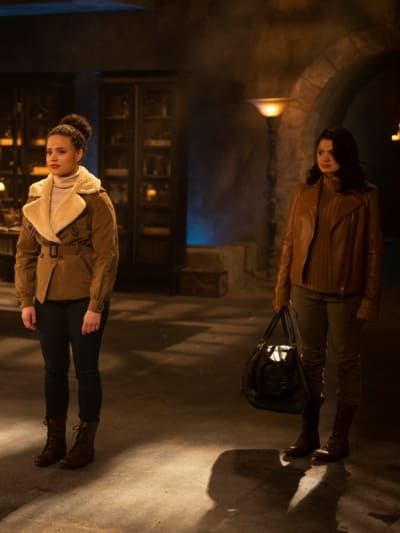 Maggie and Mel - Charmed (2018) Season 3 Episode 10 - Charmed (2018)