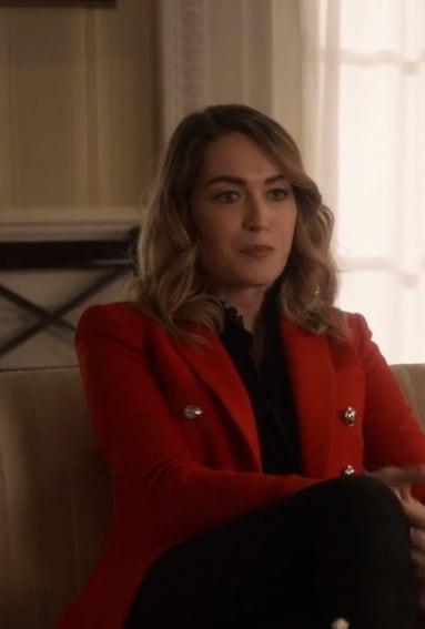 Sasha  - Designated Survivor Season 3 Episode 3