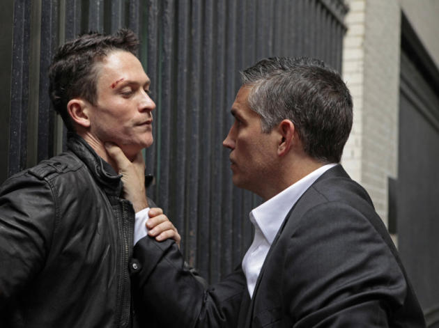 Reese Confronts a Mob Enforcer