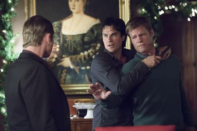 Dad in Danger - The Vampire Diaries Season 8 Episode 7