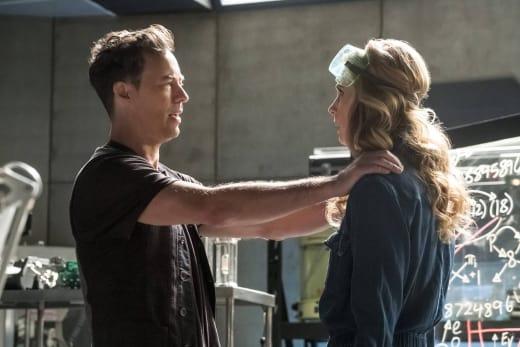 Cheerleader Wells - The Flash Season 3 Episode 21