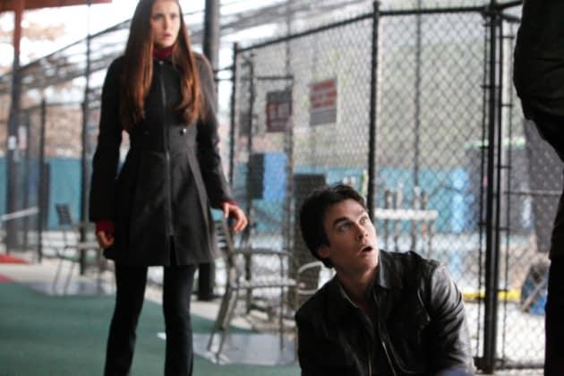 Damon in Pain