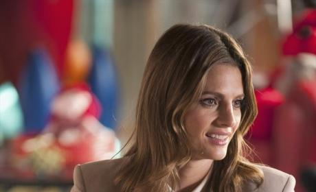 Kate's New Hairstyle - Castle Season 7 Episode 2