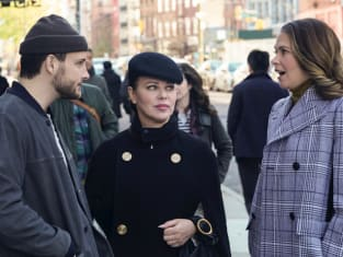 Josh, Maggie, and LIza - Younger Season 7 Episode 3