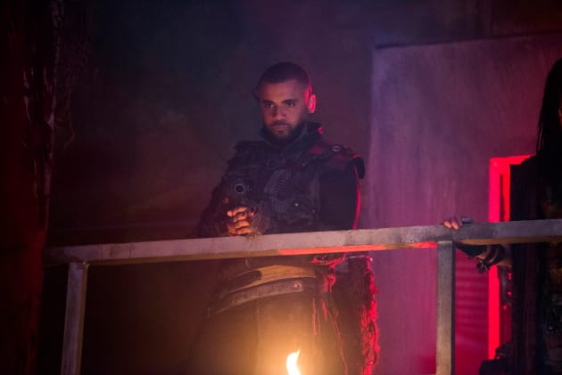 Miller in the Bunker - The 100 Season 5 Episode 10