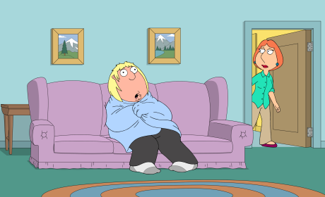 Chris In Blue - Family Guy Season 16 Episode 10