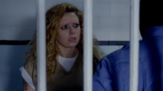 Nicky slips - Orange is the New Black Season 4 Episode 6