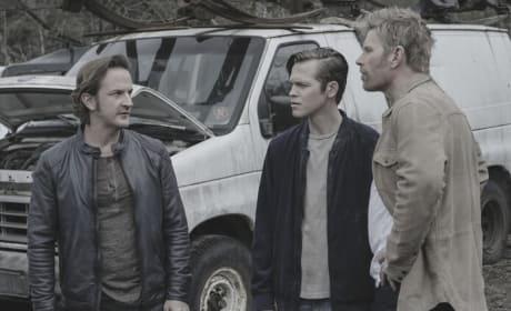 Brotherly Chat - Supernatural Season 13 Episode 22