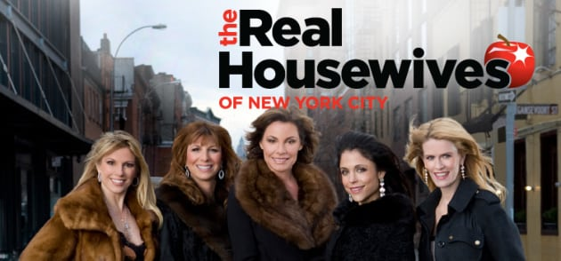 the real housewives of new york city logo - tv fanatic