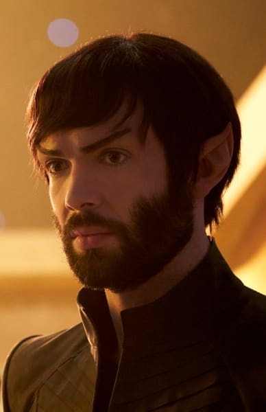 Spock is Thinking Hard - Star Trek: Discovery Season 2 Episode 11