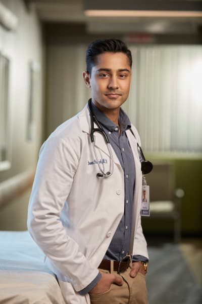 Manish Dayal as Dr. Devon Pravesh  - The Resident