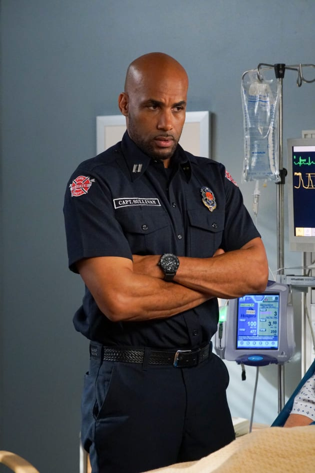 Worried Sullivan  - Grey's Anatomy Season 15 Episode 23