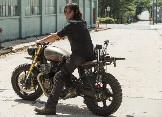 Daryl on his Motorcycle - The Walking Dead