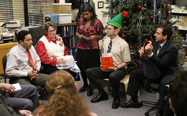 13 best christmas episodes tv fanatic - Christmas Episodes Of The Office