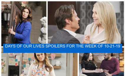 Days of Our Lives Week of 10-21-19 Spoilers: An Exciting Proposal