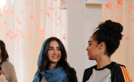 Kat and Adena in Paris - The Bold Type Season 2 Episode 10