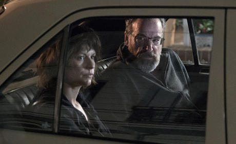 Carrie and Saul - Homeland