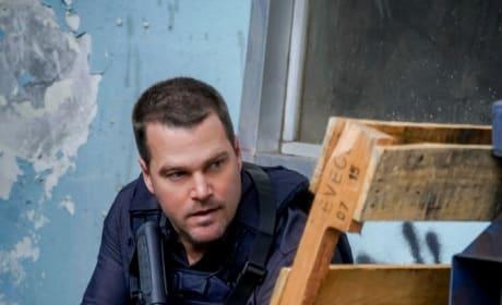 Kneeling Ready - NCIS: Los Angeles Season 10 Episode 16