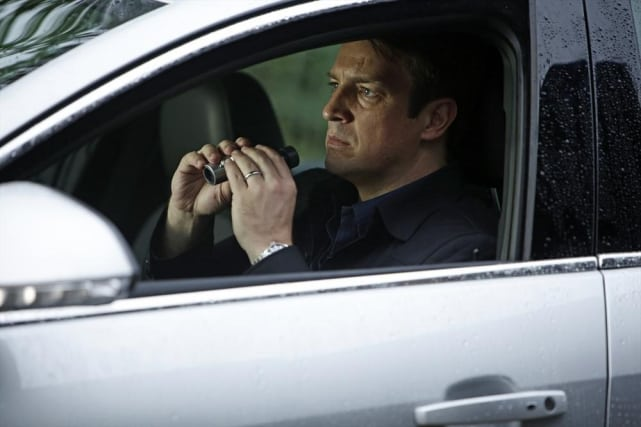 """""""Caught him red handed and bare bottomed."""" Castle"""