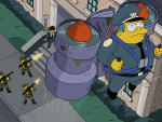 Jet Pack Debacle - The Simpsons