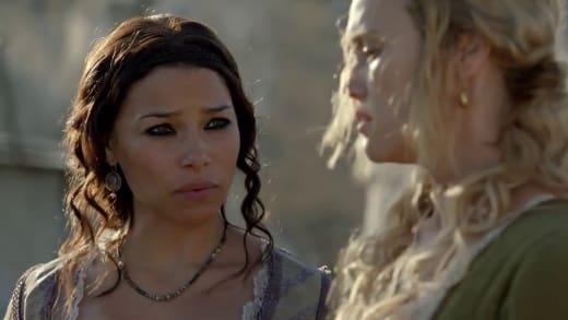 Max and Eleanor Confer - Black Sails Season 4 Episode 4