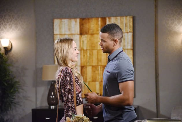 Theo Breaks Up With Claire - Days of Our Lives