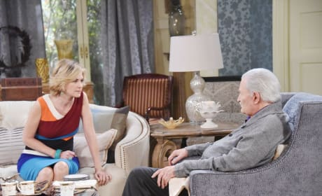Will Victor Out Eve? - Days of Our Lives