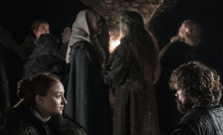 Sansa and Tyrion in the Crypt - Game of Thrones Season 8 Episode 3