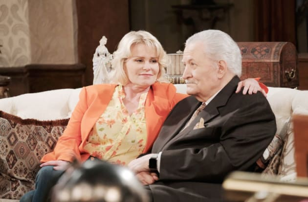 Bonnie Blackmails Victor - Days of Our Lives