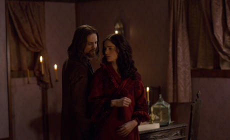 Mary and John in The Stone Child