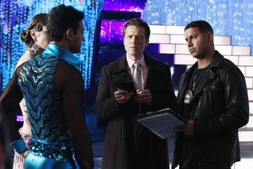 Reality Show Crime Scene