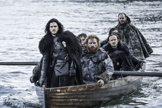 Jon Travels to the Free Folk - Game of Thrones Season 5 Episode 8
