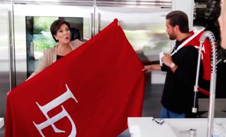Kris Jenner with an Idea - Keeping Up with the Kardashians