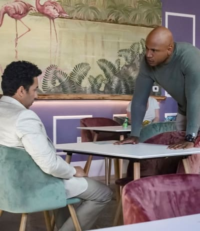 Leaning on a Source - NCIS: Los Angeles Season 10 Episode 22