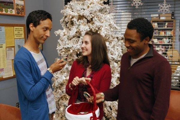 Troy, Annie, Abed and Candy