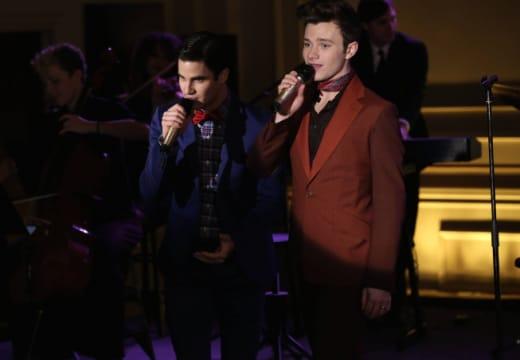 Kurt and Blaine in New York
