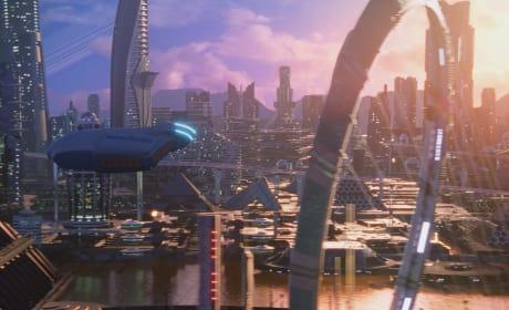 The Xelayan Cityscape - The Orville Season 2 Episode 3