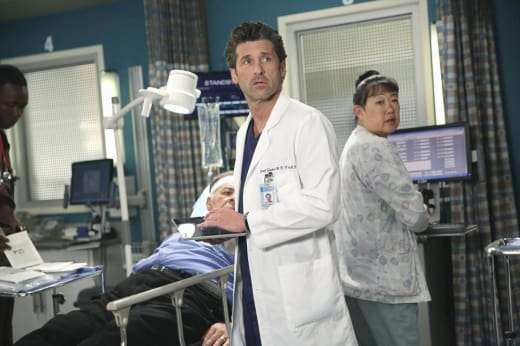 Derek, In Thought - Grey's Anatomy Season 11 Episode 7